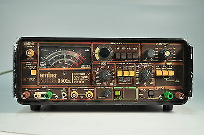 Amber 3501-A Distortion and Noise Measuring System