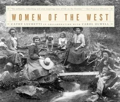 Women of the West by Cathy Luchetti Paperback Book (English)