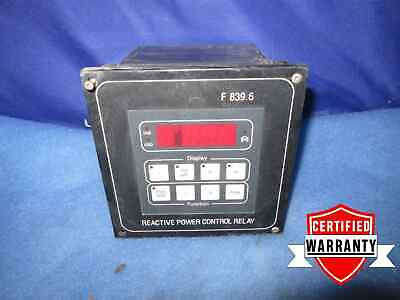 Frako Reactive Power Control Relay F 839.6 F8396 100/120/200 V Volt 90 day war