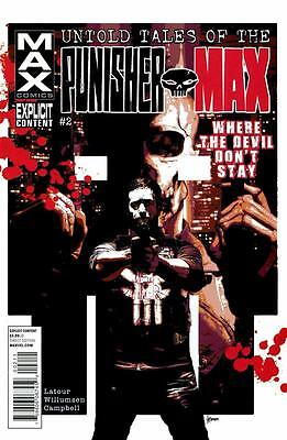 Untold Tales of The Punisher MAX #2, NM 9.4, 1st Print, 2012