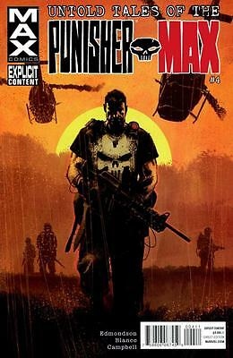 Untold Tales of The Punisher MAX #4, NM 9.4, 1st Print, 2012