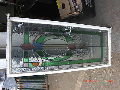 Stained Glass Window, panel. LARGE BARGAIN COLLECTION ERITH