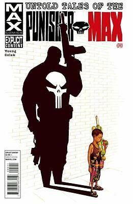 Untold Tales of The Punisher MAX #5, NM 9.4, 1st Print, 2012