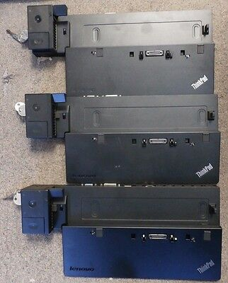 Lot of 3 Lenovo ThinkPad Pro Dock type 40A1 fru p/n 00HM918