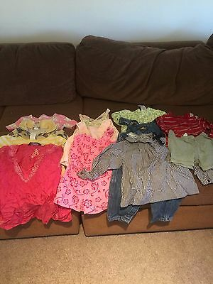 Lot of 12 Baby Girls Clothes Size 12-18 M