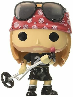 Funko POP Rocks: Axl Rose Action Figure Toy Guns N Roses Music, Top Quality, NEW