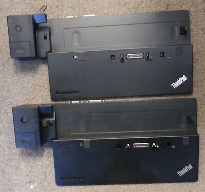 Lot of 2 Lenovo ThinkPad Pro Dock type 40A1 fru p/n 00HM918