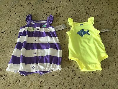 Carter's Baby Girl Outfits Set Of Two Size 3 Months NWT