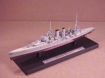 Editions Atlas 1/1250 Resin WWII HMS Exeter, Battled German Graf Spee #7134114