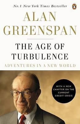 The Age of Turbulence Adventures in a New World Alan Greenspan Best Selling Book