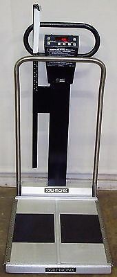 Scale-Tronix Model 6002 Wheelchair Portable Weight Scale