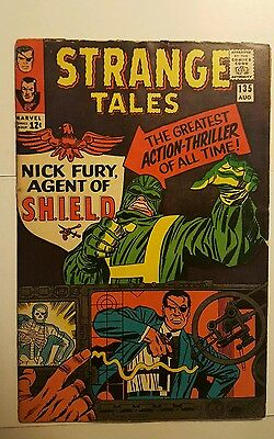 Strange Tales 135 First App Nick Fury SHIELD, Kirby, Ditko, Silver Age, Key!!