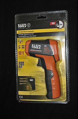 New Sealed Klein Tools IR5 12:1 Dual Laser Infrared Thermometer