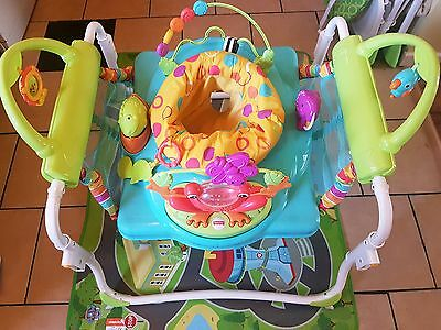 Jumperoo fisher price  2 in 1 first steps