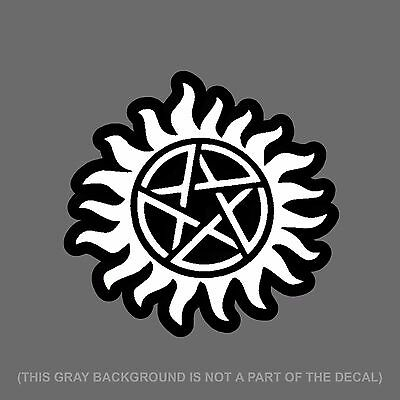 ANTI-POSSESSION SYMBOL WICCAN Supernatural Vinyl Decal