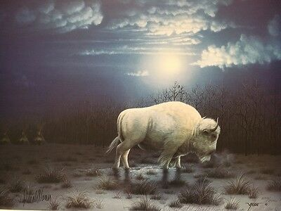 """Vintage Limited Edition Signed Donald Vann """"The Blessing"""" 1547/2000 Print"""