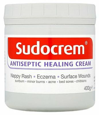 Sudocream Antiseptic Healing Cream For Nappy Rash, Eczema & Bed Sore 400g