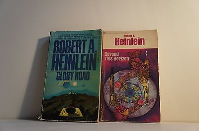 Lot of 2 Robert A. Heinlein Novels