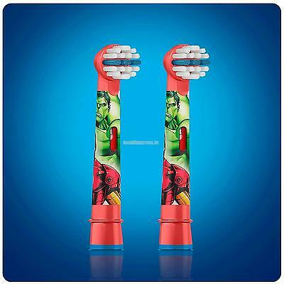 Oral-B Kids Stages Power The Avengers Replacement Brush Heads – Pack of 2
