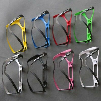 New Carbon Fiber Super Light Cycling Bicycle Bike Drink Water Bottle Cage Holder
