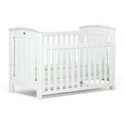 NEW Boori Casa Baby Cot Toddler Bed White