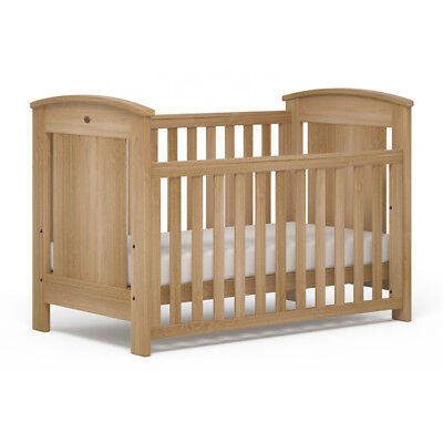 Boori Casa Baby Cot Toddler Bed Almond