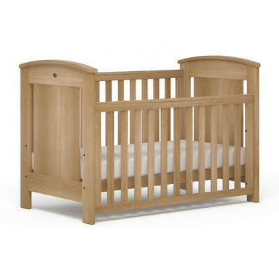 NEW Boori Casa Baby Cot Toddler Bed Almond
