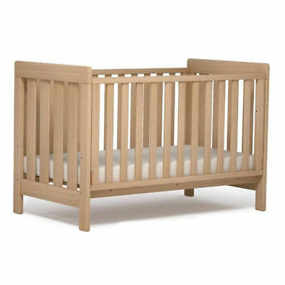 Boori Urbane Daintree Baby Toddler Cot Bed Almond