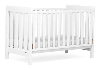 NEW Boori Urbane Daintree Baby Toddler Cot Bed White