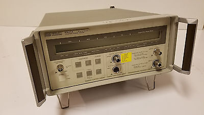 AGILENT HP 5347A Frequency Counter/Power Meter, cal thru 3/17. W/HPIB option