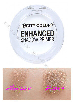 Shadow Primer -CITY COLOR Enhanced Primer-  Crease Free, True Color Effect