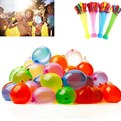 3 packs 111  Kids Water Balloons Bunch O Water Bombs Refill Kit Tools Delightful