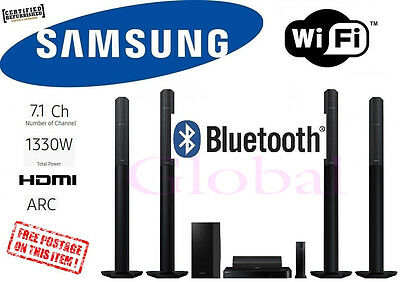 Samsung 7.1CH 3D Bluray Home Theatre System UHD Upscale 1330W HTH7750