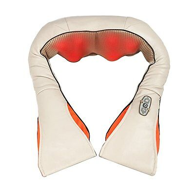 Shiatsu Neck and Back Massager with Heat and Timing Function Office Home and Car