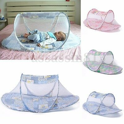 Portable Baby Kid Infant Travel Mosquito Net Bed Crib Canopy Mattress Tent Gift