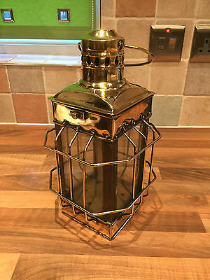 Vintage Ships Hanging Brass Light Lantern Maritime Marine Nautical Boat