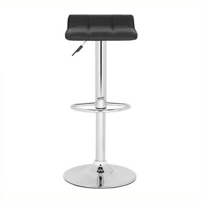 Superb Safavieh Henry Black Leather Bar Stool 150 39 Picclick Gmtry Best Dining Table And Chair Ideas Images Gmtryco