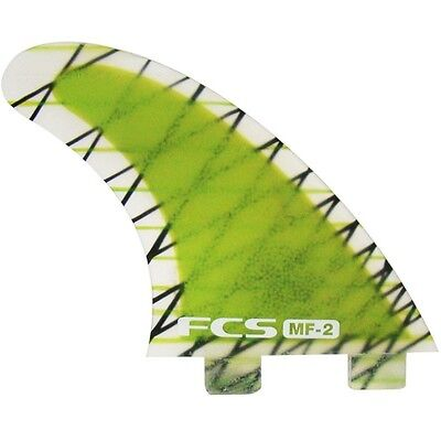 FCS MF2 PC Surfboard Fins NEW Thruster