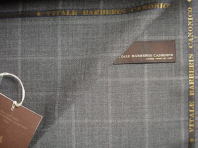 Vitale Barberis Canonico SUPER 110'S WOOL SUITING FABRIC MADE IN ITALY- 3.5 m.