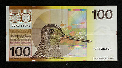 Netherlands 100 Gulden 1977 Note - Very Fine!!