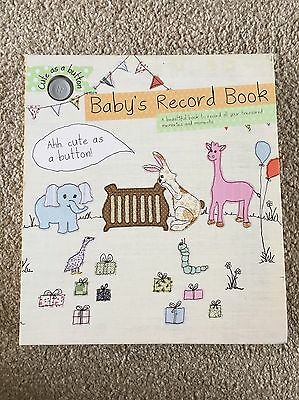 Baby Record Book From Pregnancy To 1st Birthday