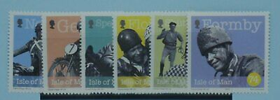 Isle of Man Stamps, 2004, Birth Cent of George Formby, SG1146-1151, Mint NH