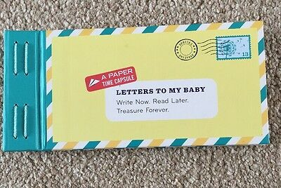 Letters To My Baby Booklet Pregnancy To Baby With Stickers