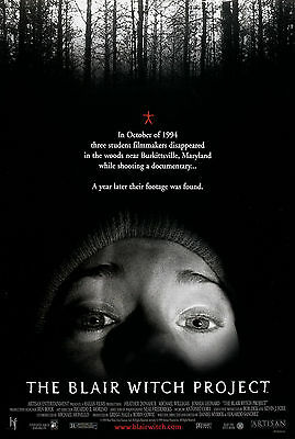 The Blair Witch Project (1999) Original Movie Poster  -  Rolled