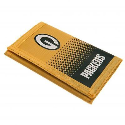 Green Bay Packers Nylon Wallet (Official Merch)