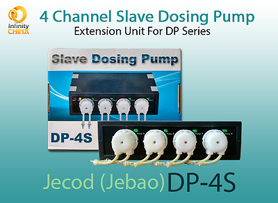 Jecod (Jebao) DP-4S Slave Dosing Pump - 4 x Extension unit for DP-2/3/4/5 Models