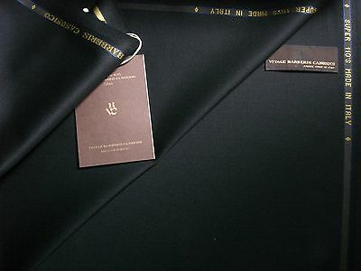 Vitale Barberis Canonico SUPER 110'S WOOL SUITING FABRIC MADE IN ITALY- 3.4 m.