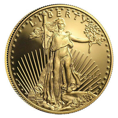 2017 Gold American Eagle 1 oz Coin