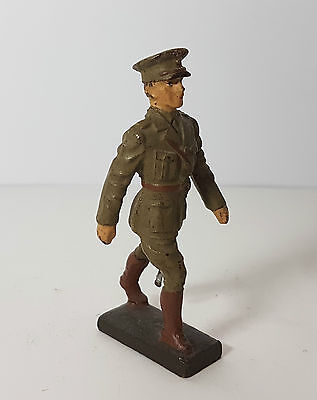 Lineol 7,5cm marching British officer (no Elastolin)