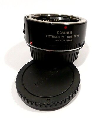 Canon Extension Tube EF 25 (For EF,EF-S,TS-E lenses )  Excellent